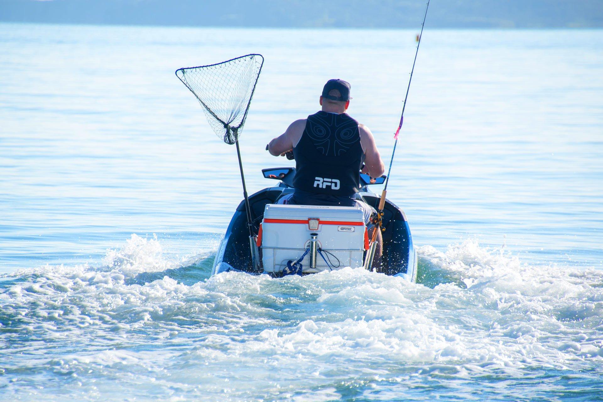 jet ski fishing trips